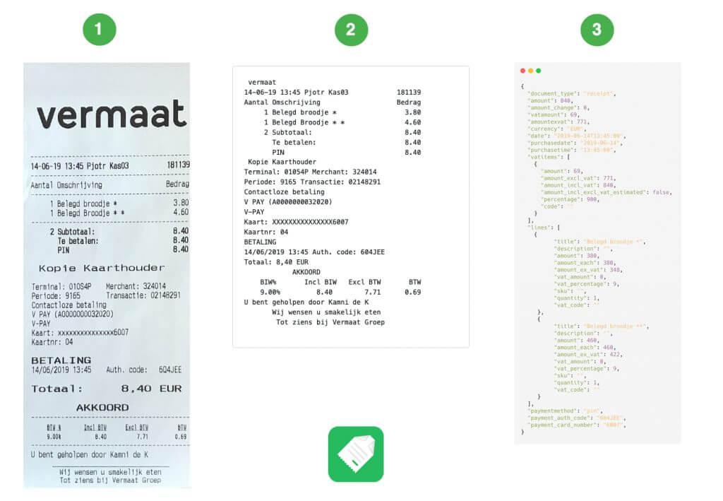 Receipt Parsing API